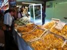 Ventimiglia markt in de herst