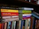 Altijd een goed boek en magazines aanwezig