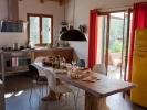 Massief houten keukentafel