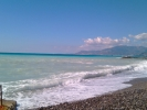 Bordighera beach