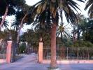 Park aan zee in Ventimiglia