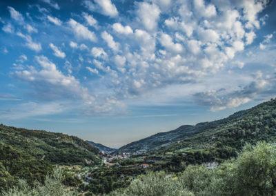 Uitzicht wolken